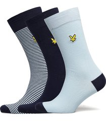 scotty underwear socks regular socks blå lyle & scott