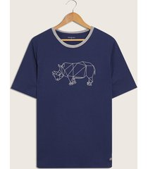 camiseta azul-gris patprimo