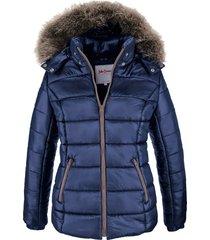 giacca invernale con cappuccio (blu) - john baner jeanswear