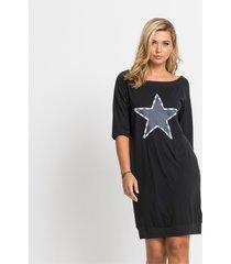 shirtjurk met sterrenprint