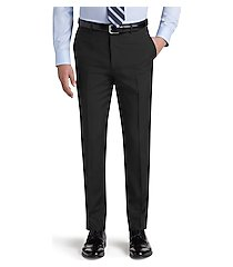 reserve collection tailored fit flat front dress pants - big & tall clearance by jos. a. bank