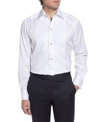 men's eton contemporary fit cotton & linen formal shirt