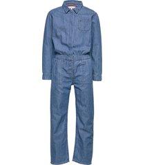 denim overall lwmr jumpsuit blauw tommy hilfiger