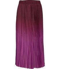 anno hw maxi skirt knälång kjol lila second female