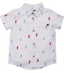 camisa manga corta blanco  offcorss