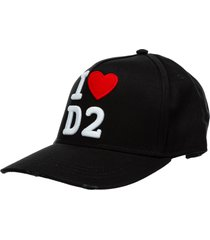 dsquared2 i love d2 baseball cap