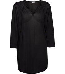 sheer tunic blouse tuniek zwart filippa k