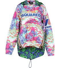 dsquared2 x k-way sweatshirts