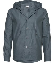 m. kit hooded jacket dun jack blauw filippa k