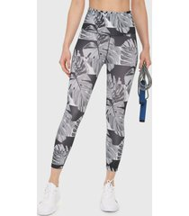 leggings gris-blanco nike