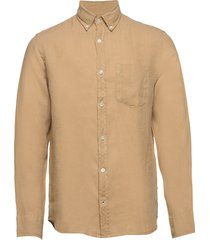 levon shirt 5706 overhemd casual beige nn07