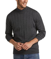 joseph abboud charcoal 37.5® modern fit mock neck sweater