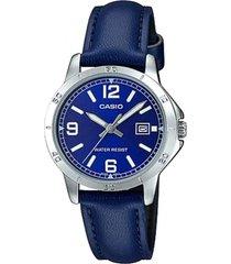 reloj casual azul casio