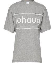 active tee 2.0 t-shirts & tops short-sleeved grå johaug