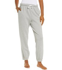 women's honeydew intimates beach bum joggers, size x-large - grey