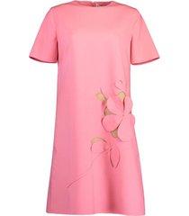 carnation crewneck day dress