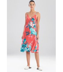 natori bloom slip dress sleep pajamas & loungewear, women's, size xs natori