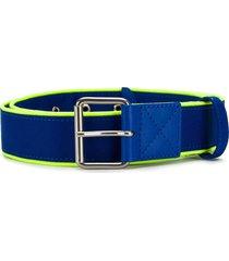 ader error contrast trim belt - blue