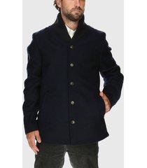 chaqueta lana rockford azul