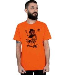 camiseta ventura jamon laranja - kanui