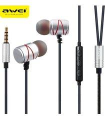 audífonos bluetooth manos libres inalámbricos, 910ty auriculares estéreos atados con alambre de la música estérea del en-oído de los auriculares(plata)