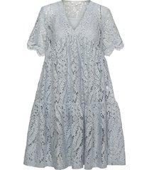 adabella dress dresses lace dresses blå andiata