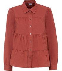 camicetta in lino (rosso) - bodyflirt
