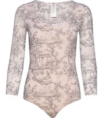 antoinette string body t-shirts & tops bodies creme wolford