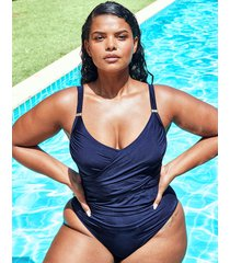 icon varadero curve non wired wrap shaping one-piece swimsuit