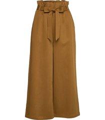 chloe drapey wijde broek bruin arnie says