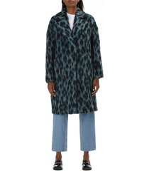 animalier pattern coat