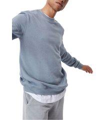 men's essential crew fleece pullover