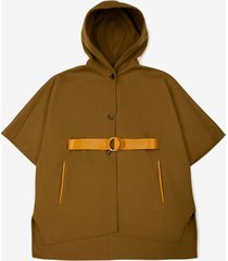 hooded cape green 40