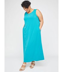 anywear keyhole maxi dress (with pockets)