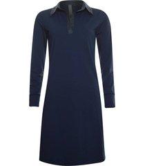 jurk travel blauw