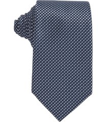 boss men's dark blue tie