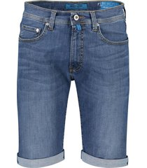 pierre cardin denim shorts 5-pocket blauw