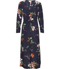 day bouquet maxi dress galajurk blauw day birger et mikkelsen