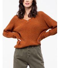 blu pepper v-neck knit sweater
