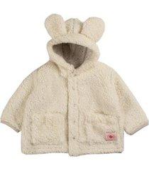 casaco infantil pelúcia carneirinho