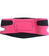 cinta modeladora facial adoraria tira papada rosa