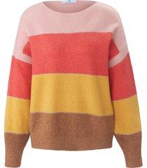 trui met lange mouwen en boothals van peter hahn multicolour