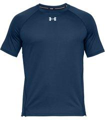 camiseta under armour qualifier hexadelta azul