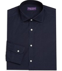 woven cotton dress shirt