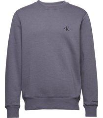 ck essential reg cn sweat-shirt trui grijs calvin klein jeans