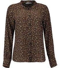 blouse animal bruin