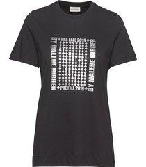 manja t-shirts & tops short-sleeved svart by malene birger