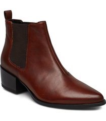 marja shoes boots ankle boots ankle boot - heel brun vagabond