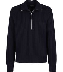 tom ford zipped sweater