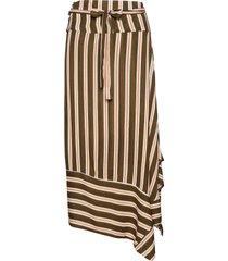 lollie skirt knälång kjol grön cream